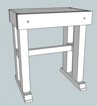 joinery workbench model